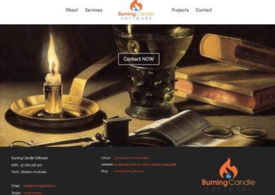 Burning Candle Software